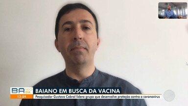 Pesquisador baiano coordena equipe para desenvolver vacina contra o COVID-19 - O cientista comenta procedimentos feitos na China e também explica o projeto sendo desenvolvido no Brasil.