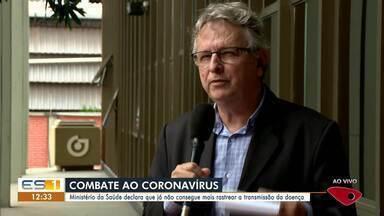 Governo Federal reconhece que já existe transmissão comunitária do Coronavírus no Brasil - País já não consegue mais mapear o contágio.