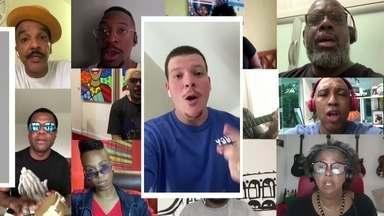 Artistas fazem clipe inédito para chamar atenção a crise do coronavírus - Clipe inédito reúne diversos artistas populares e foi produzido pela Central Única das Favelas.