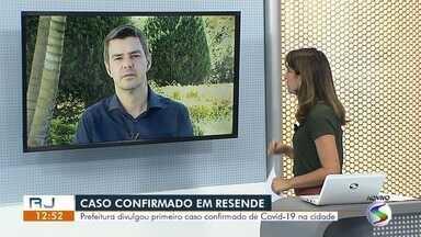 Prefeitura de Resende registra primeiro caso confirmado de coronavírus na cidade - Segundo a Secretaria Municipal de Saúde, ele foi atendido em um hospital particular com sintomas de doença respiratória. Secretaria de Estado da Saúde ainda não confirma o caso.