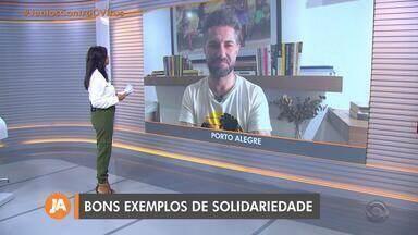 Paulo Germano comenta ações de solidariedade no RS devido ao coronavírus - Assista ao vídeo.