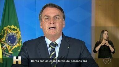 Sociedade médica, Judiciário e políticos reagem com indignação às declarações de Bolsonaro - O discurso, em tom político e sem qualquer base científica, foi classificado como irresponsável, desonesto e uma ameaça à saúde da população.