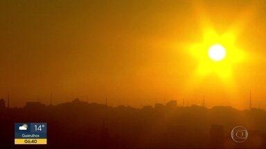 Poluição diminui com menos veículos nas ruas - Quarentena deixou céu mais limpo e visível.