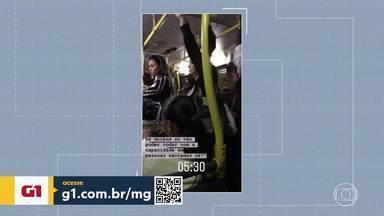 Governo limita número de passageiros em ônibus - Os horários de pico ainda registram superlotação.