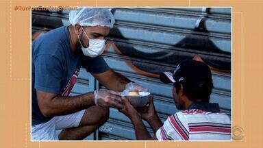 Empresas e voluntários criam rede de solidariedade devido ao coronavírus - Atitudes ajudam população a enfrentar o isolamento social.