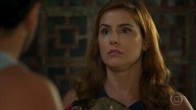 Alexia desabafa com Felipa sobre seu encontro com Renzo - undefined
