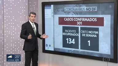 DF tem mais de 300 casos de coronavírus - Números são atualizados pela Secretaria de Saúde.