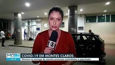 Covid-19: Demora na entrega de exames preocupa autoridades e população - Em Montes Claros, são 362 casos suspeitos sendo investigados. A Secretaria de Saúde da cidade está esperando o resultado de 34 exames.