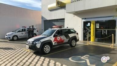Polícia é acionada em agência bancária de Araçoiaba da Serra - A polícia foi chamada na madrugada desta terça-feira (31) em uma agência bancária em Araçoiaba da Serra (SP).