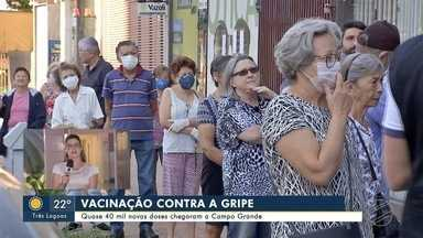 Campo Grande volta a imunizar profissionais da saúde e idosos contra a gripe - Campo Grande volta a imunizar profissionais da saúde e idosos contra a gripe