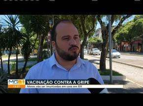 Vacinação contra a gripe será feita em casa em Governador Valadares - Vacinas estão sendo liberadas de forma restrita.
