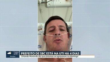Prefeito de São Bernardo do Campo grava vídeo falando sobre a Covid-19 - undefined