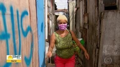 Moradores de palafitas redobram cuidados para evitar o novo coronavírus - No Recife, mais de 4.700 famílias moram em casas precárias, segundo dados oficiais.