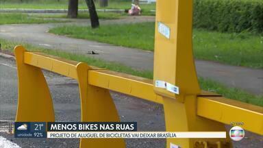 Projeto de aluguel de bikes deixa Brasília - Mais uma empresa de bicicletas compartilhadas vai deixar a cidade.