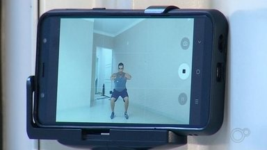 Sesc e Sesi disponibilizam vídeos na internet com dicas de exercícios para fazer em casa - Sesc e Sesi disponibilizam vídeos na internet com dicas de exercícios para fazer em casa.