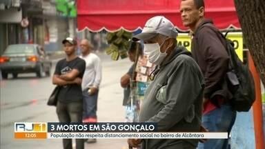 Três mortes por Covid-19 são confirmadas em São Gonçalo - São Gonçalo é a segunda cidade mais populosa do estado. Neste momento, o município segue com a campanha de vacinação contra a gripe.