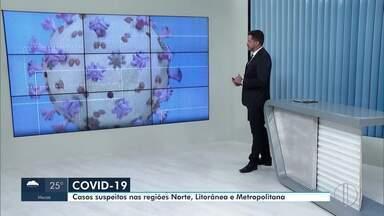 RJ2 mostra casos suspeitos de coronavírus no interior do RJ em 30 de março - Confira como está o cenário nas cidades do interior do Rio.