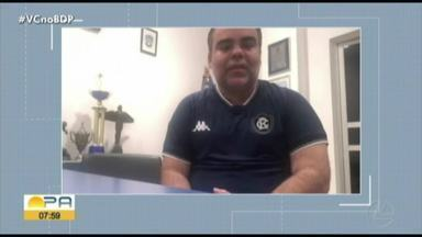 """Presidente do Remo afirma que não aceita Paysandu campeão """"fora de campo"""" - Presidente do Remo afirma que não aceita Paysandu campeão """"fora de campo"""""""