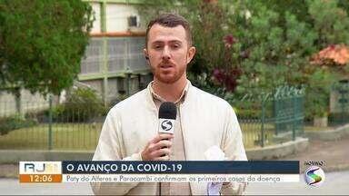 Paracambi e Paty do Alferes confirmam primeiros casos de coronavírus - Pacientes estão em isolamento domiciliar, sendo acompanhados pela Secretaria Municipal de Saúde.