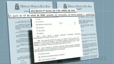 Comércio de Foz do Iguaçu vai abrir de forma gradual - A partir de segunda-feira (13) algumas empresas poderão abrir as portas.