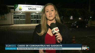 Marmeleiro registra o primeiro caso de coronavírus - A paciente foi encaminhada para um hospital de Francisco Beltrão.