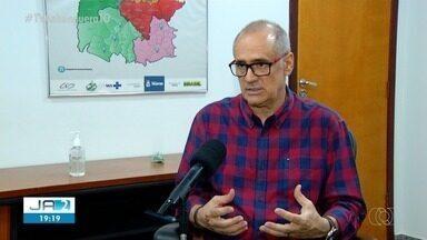 Secretário estadual de saúde comenta resultado do isolamento social - Secretário estadual de saúde comenta resultado do isolamento social