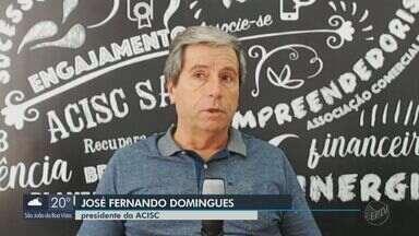 Acisc pede prorrogação de prazos de pagamentos para a Prefeitura de São Carlos - Medida seria uma forma de auxiliar os lojistas durante a pandemia.