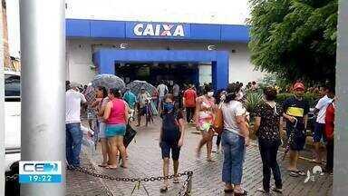 Começa o pagamento do auxílio emergencial para correntista e inscritos no Cadúnico - Confira mais notícias em g1.globo.com/ce
