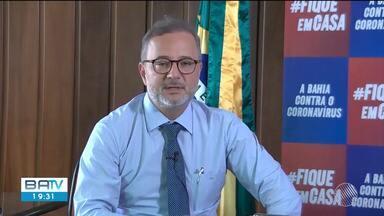Secretário de Saúde da Bahia faz alerta sobre surto de coronavírus na região sul - Segundo o gestor, o número de casos está crescendo muito rápido no local.