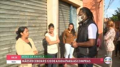 Mães recebem ajuda para as compras - Mulheres chefiam 40% dos lares brasileiros