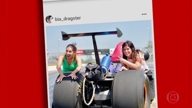Mulheres contam a experiência em pilotar em categorias como dragster - Mulheres contam a experiência em pilotar em categorias como dragster.