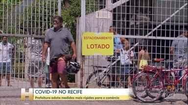 Prefeitura do Recife adota medidas mais rígidas para o comércio - Estacionamentos fucionarão com apenas um terço da capacidade.