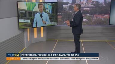 Prefeitura de Curitiba flexibiliza o pagamento de ISS - Decreto vale para profissionais autônomos e liberais, como advogados e engenheiros.