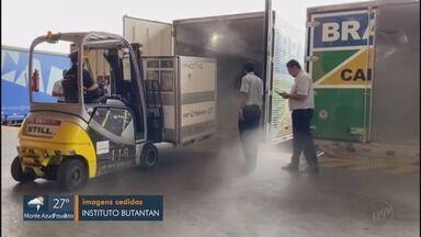 Chegam ao Brasil mais de 700 mil testes para análise do novo coronavírus - Objetivo é diminuir a fila de espera dos resultados.