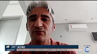 Exames mostram maior incidência de casos de H1N1 do que COVID no Piauí - Exames mostram maior incidência de casos de H1N1 do que COVID no Piauí