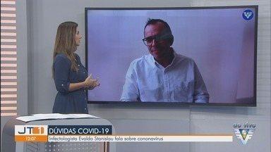 Infectologista que se curou da Covid-19 fala sobre novo vírus - Evaldo Stanislau conta sobre período com o coronavírus e fala sobre recuperação da doença.