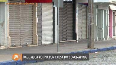 Devido ao avanço do coronavírus, Bagé adota restrições no comércio e isolamento social - Cidade montou um hospital de campanha para atender pacientes da Covid-19.