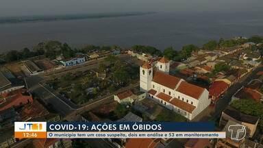 Secretária de Saúde de Óbidos fala sobre ações que estão sendo realizadas no município - Nathalia Rodrigues conta que município tem um caso suspeito, dois em análise e 53 em monitoramento.