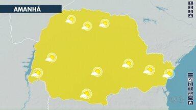 Tempo fica firme nos próximos dias em Londrina - Previsão aponta manhãs com frio e sem chuva
