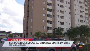 Condomínios buscam alternativas diante da crise - Veja a reportagem.