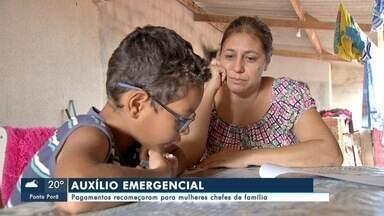 Pagamentos de medida emergencial recomeçaram para mulheres chefes de família - Pagamentos de medida emergencial recomeçaram para mulheres chefes de família