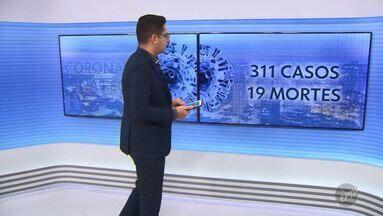 Região de Campinas registra 311 casos e 19 mortes pela Covid-19 - Das 49 cidades de cobertura da EPTV, 33 possui diagnósticos positivos.