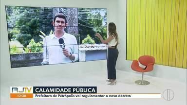 Prefeitura de Petrópolis, RJ, decreta estado de calamidade pública - Medida foi tomada depois da confirmação da terceira morte por Covid-19 no município.