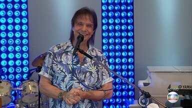 Roberto Carlos faz live no Globoplay no seu aniversário de 79 anos - As duas primeiras canções foram exibidas ao vivo no Domingão