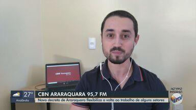 Novo decreto de Araraquara flexibiliza volta ao trabalho de alguns setores na quarentena - Escritórios de advocacia, óticas, garagens de veículos, lojas de venda e revenda de peças automotiva e academias poderão funcionar com limitações e regras sanitárias.