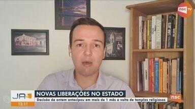 Ânderson Silva fala sobre flexibilização de atividades em SC; Florianópolis deve aderir - Ânderson Silva fala sobre flexibilização de atividades em SC; Florianópolis deve aderir