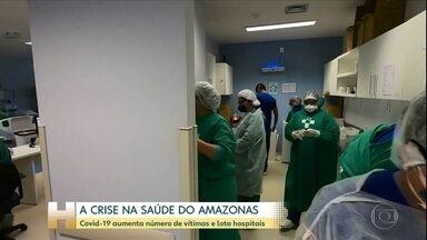 Coronavírus: Estado do Amazonas enfrenta aumento da contaminação e falta de leitos - Profissionais de saúde reclamam das condições de trabalho.