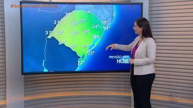 Faz sol e poucas nuvens nesta terça (21); tempo continua seco no RS nesta quarta (22) - Temperaturas sobem durante a tarde e chega aos 27 graus em Porto Alegre.