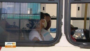 Máscaras de proteção devem ser obrigatórias no transporte coletivo de Manaus - Prefeito de Manaus anunciou o decreto para evitar proliferação do vírus.