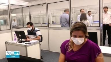 Central de regulação de leitos começa a funcionar em Pernambuco - Ao todo, 131 profissionais foram contratado para atuar no local.